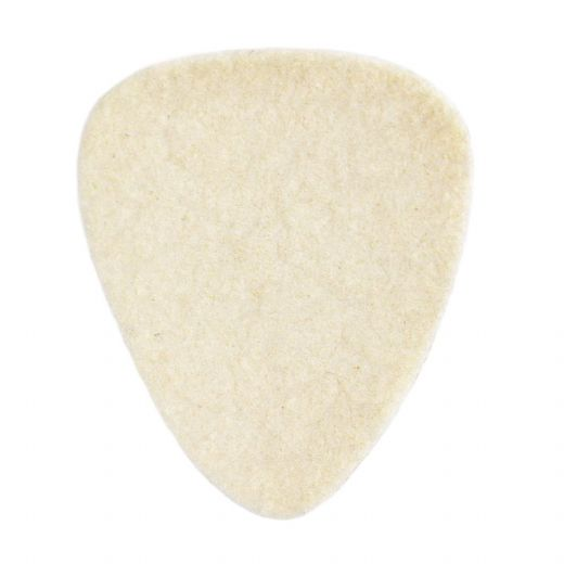 Felt Tones Natural Wool Felt 1 Guitar Pick